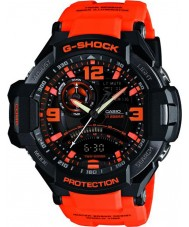 Casio GA-1000-4AER Mens g-shock twin anturi neon-valaisin watch