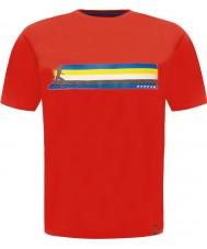 Dare2b DMT322-65740-XS Mens Multiband tulenpunainen t-paita - koko XS