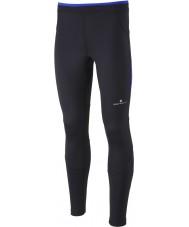 Ronhill RH000083-R400-XL Mens etukäteen musta koboltti contour ajaa sukkahousut - kokoa xl