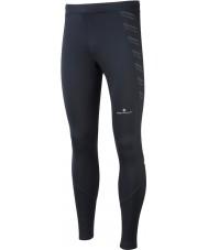 Ronhill RH-001857R009-XL Miesten etukäteen kaikki mustat käynnissä venyttää sukkahousut - kokoa xl