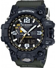 Casio GWG-1000-1A3ER Mens g-shock radio controled aurinkoenergialla kompassi musta watch
