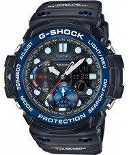 Casio GN-1000B-1AER Mens g-shock gulfmaster vuorovesikäyrä ja kuu ikä musta kello