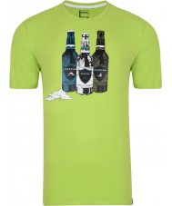 Dare2b Miesten pullo lime vihreä t-paita