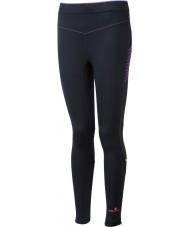 Ronhill RH-001901R292-16 Naisten vizion musta fluo pinkki venyttää sukkahousut - koko uk 16 (xl)