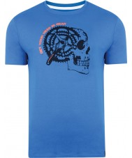 Dare2b DMT324-9PR40-XS Mens gearhead skydiver sininen t-paita - koko XS