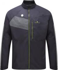 Ronhill RH-001895R848-L Mens vizion musta fluro keltainen loiste takki - koko l