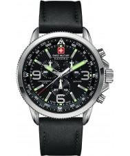 Swiss Military 6-4224-04-007 Mens nuoli Chrono musta watch