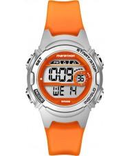 Timex TW5K96800 Naisten maratonin puolivälissä koko oranssi hartsi ajanotto hihna katsella