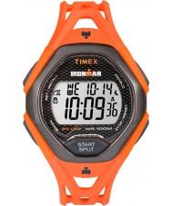 Timex TW5M10500 Mens ironman virtaviivainen oranssi hartsi hihna katsella