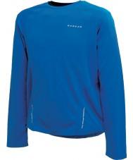 Dare2b Mens relay skydiver sininen pitkähihainen