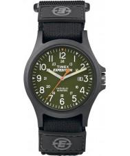 Timex TW4B00100 Mens retkikunta asuntoauto ydin musta watch