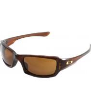 Oakley Oo9238-07 fives potenssiin kiillotettu rootbeer - tumma pronssi aurinkolaseja