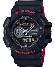 Casio GA-400HR-1AER Mens g-shock maailman aika musta combi watch