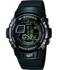 Casio G-7710-1ER Mens g-shock musta auto-valaisin watch