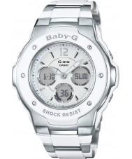Casio MSG-300C-7B3ER Naisten baby-g maailma kerran kaksi sävyä combi watch