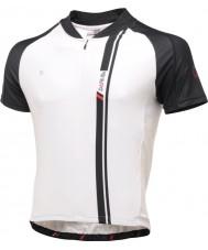 Dare2b Mens aep musta ja valkoinen jersey t-paita