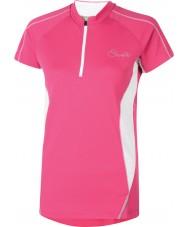 Dare2b Naisten hyvää vaaleanpunaista t-paitaa