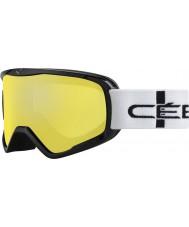 Cebe CBG50 Striker l oranssi ruudullinen - orange flash peili laskettelulaseille