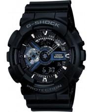 Casio GA-110-1BER Mens g-shock musta combi maailman aika watch