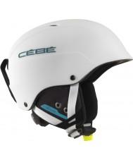 Cebe CBH174 Contest matta valkoinen sininen suksi kypärä - 62-64cm