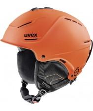 Uvex 5661538003 P1us tummanoranssi mat laskettelukypärän - 52-55cm