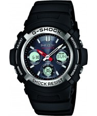 Casio AWG-M100-1AER Mens g-shock radio controled aurinkoenergialla urheilukelloon