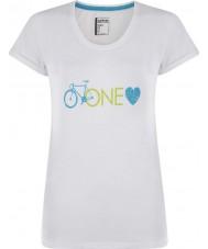 Dare2b Naisten yksi rakkaus valkoinen t-paita