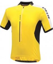 Dare2b DMT134-0QX40-XS Mens liikkeellä kirkkaan keltainen paita T-paita - koko XS