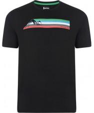 Dare2b DMT322-80040-XS Miesten monikaistainen musta t-paita - koko XS