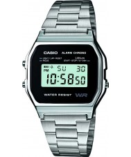 Casio A158WEA-1EF Mens kokoelma watch