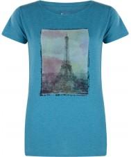 Dare2b Naisten torni yli emalin sininen marl t-paita