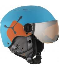Cebe CBH209 Fireball jr sininen oranssi suksi kypärä - 49-54cm