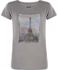 Dare2b Naisten torni tuhkaharmaa marl-t-paidan yläpuolella