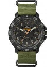 Timex TW4B03600 Mens retkikunta Gallatin vihreä nailonhihna watch