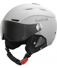 Bolle 21267 Backline visiiri pehmeä valkoinen ja hopea laskettelukypärän - 54-56cm