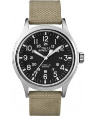 Timex T49962 Mens retkikunta scout tan watch