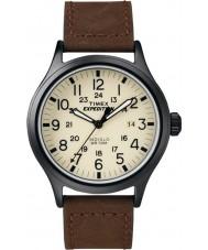 Timex T49963 Mens retkikunta scout ruskea watch