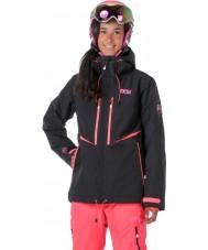 Picture WVT068-BLANP-XS Hyvät EXA musta neonvaaleanpunainen takki - kokoa xs