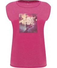 Dare2b DWT327-1Z016L Hyvät rauhallista sähköinen pinkki t-paita - koko uk 16 (xl)