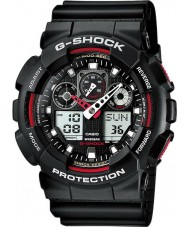 Casio GA-100-1A4ER Mens g-shock auto led musta watch