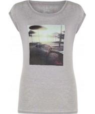 Dare2b Naisten rauhallinen tuhkaharmaa marl-t-paita