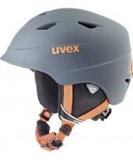 Uvex 5661325803 Airwing pro titaani oranssi laskettelukypärän - 52-54cm