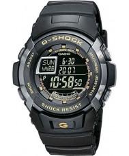 Casio G-7710-1ER Mens g-shock musta auto-valaisin watch