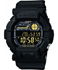 Casio GD-350-1BER Mens g-shock maailman aika musta watch
