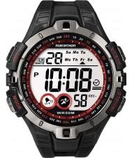 Timex T5K423 Mens punainen musta maraton urheilu katsella
