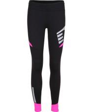 Newline 13117-066-S Hyvät visio musta pinkki sukkahousut - koko s