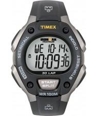 Timex T5E901 Musta ironman 30 sylissä täysikokoinen urheilu katsella