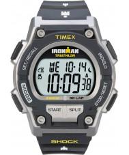 Timex T5K195 Miesten harmaa ironman shokki vastustaa 30 kierroksen urheilu katsella