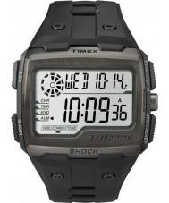Timex TW4B02500 Mens retkikunta digitaalinen shokki musta Chrono katsella