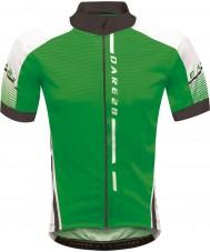 Dare2b Miesten allekirjoitus kiertueen väylän vihreä jersey